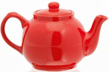 Ampli červená konvice na čaj