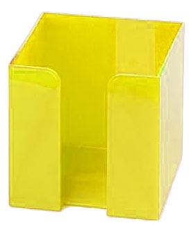 Žlutý zásobník na papírky velký