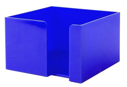 Modrý zásobník na papírky