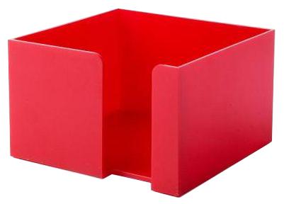 Červený zásobník na papírky
