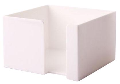 Bílý zásobník na papírky