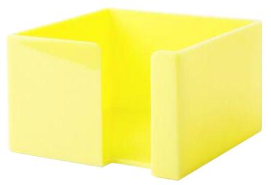 Žlutý zásobník na papírky
