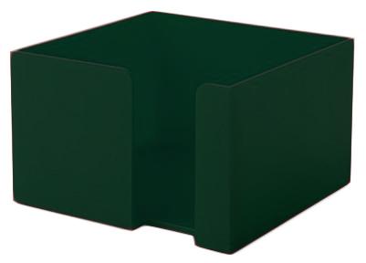 Zelený zásobník na papírky