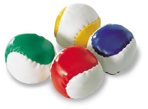Modrý antistresový baseballový míček