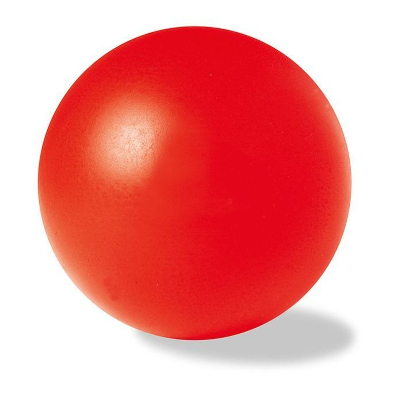 Antistresový červený míček
