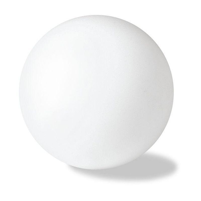 Antistresový bílý míček
