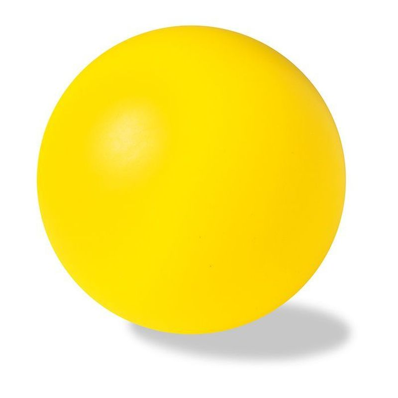 Antistresový žlutý míček