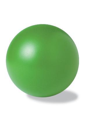 Zelený antistresový míček