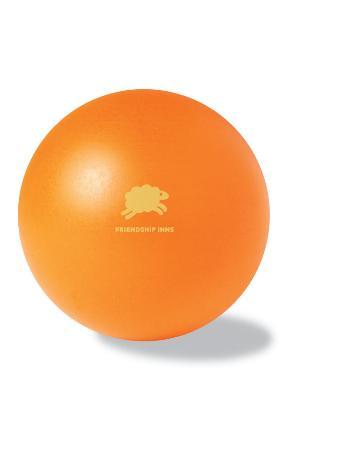 Oranžový antistresový míček