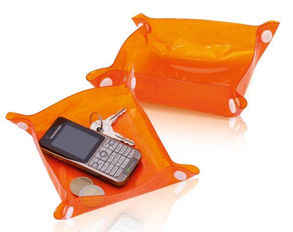 Flot oranžový zásobník