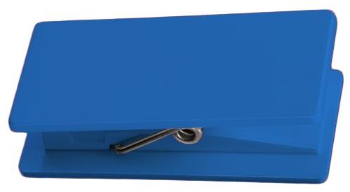 Modrý nalepovací memory klip
