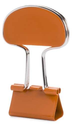 Yonsy oranžový klip na poznámky