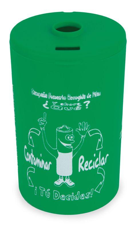 Kontejner na baterie zelený