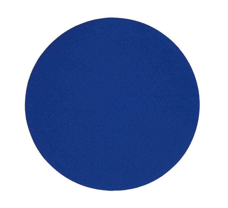 Kulatá podložka pod myš modrá