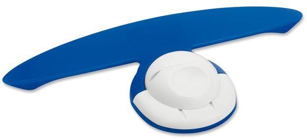 NIFTY plastový držák poznámek a pera s magnetem, modrá