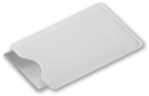 HILDA plastová lupa v obalu, bílá