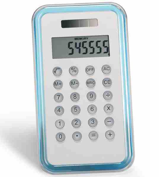 Stříbrný kalkulátor