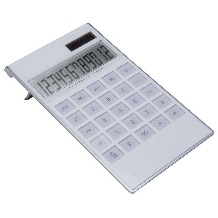 Kalkulačka s transparentní klávesnicí