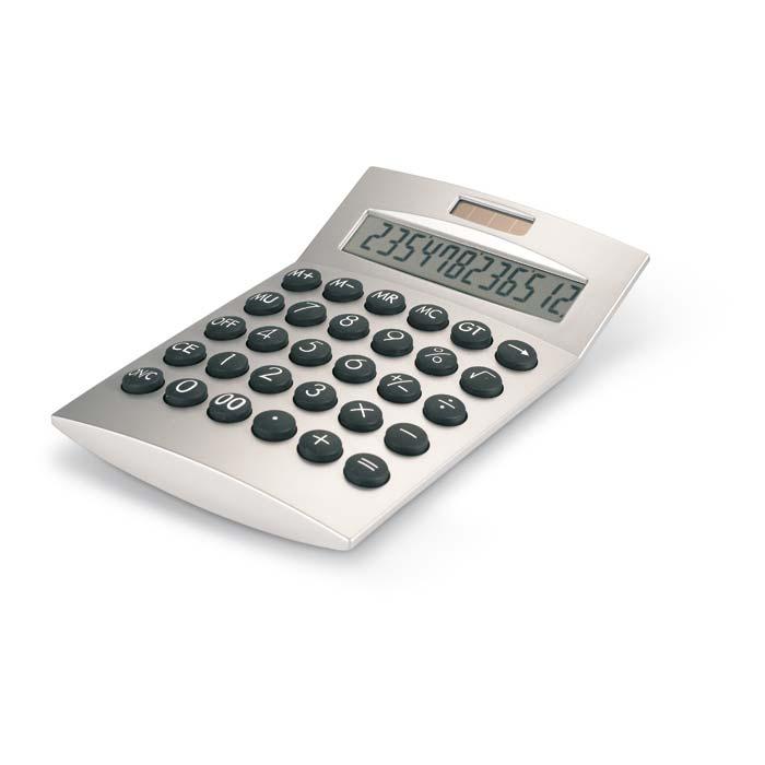 Kalkulačka na solární dobíjení
