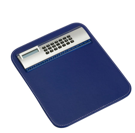 Limit modrá podložka pod myš s kalkulačkou