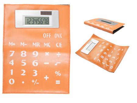 Up oranžová ohebná kalkulačka