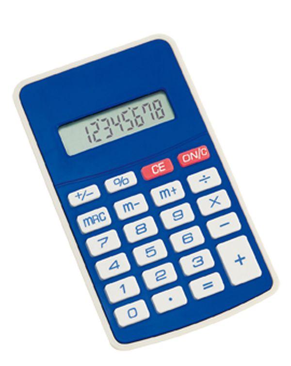 Result modrá kalkulačka
