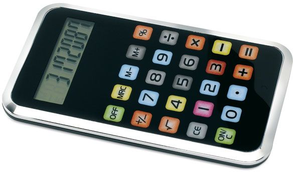 Kalkulačka inspirovaná IPODem