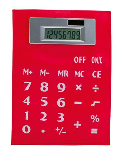 Roll Up červená kalkulačka