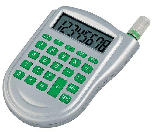 Zelená kalkulačka na vodu