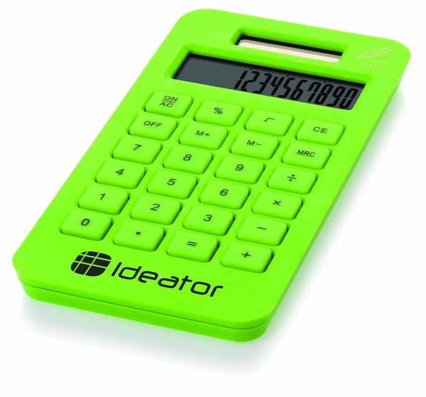 Limetková kapesní kalkulačka