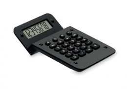 Černá plastová kalkulačka