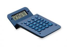 Modrá plastová kalkulačka