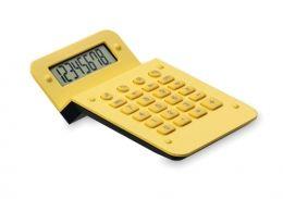 Žlutá plastová kalkulačka