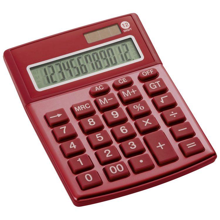 Červená kalkulačka Dorchester