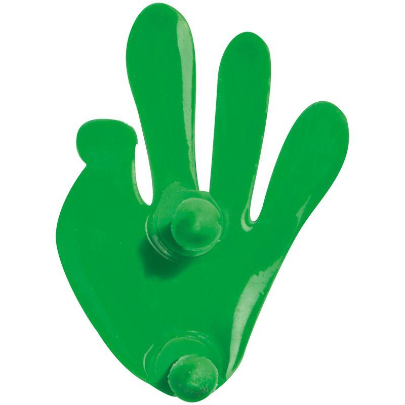 Klick zelená vložka na kalkulačku Ruka