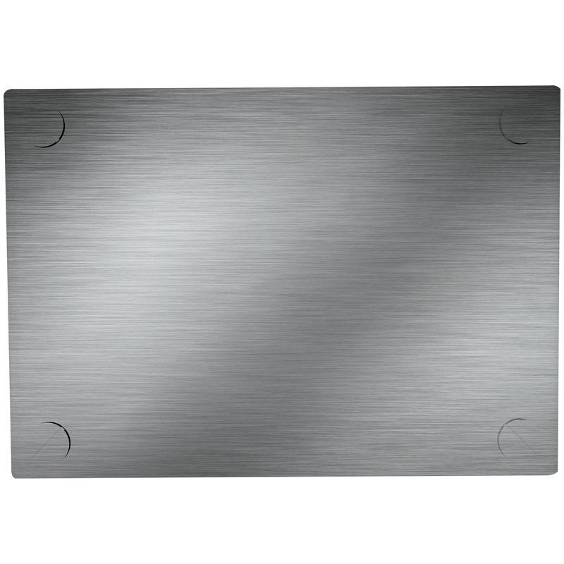 Naklikávací deska stříbrná (kovová) pro kalkulačky