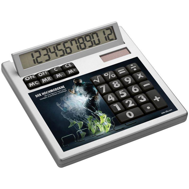Kalkulačka ve vlastním designu s vložkami bez dírek
