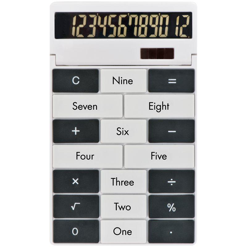 Kalkulačka s vlastním designem