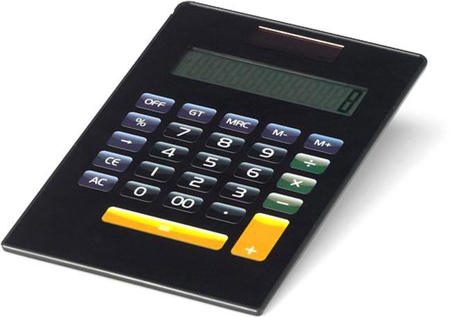 Kalkulačka černá