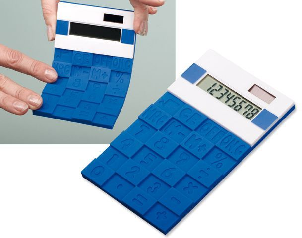 FUNIX duální kalkulačka s 8místným displejem, modrá