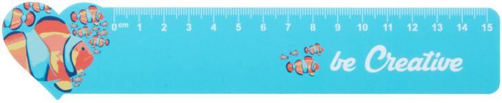 Couler 15 15 cm pravítko, domeček