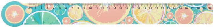 Couler 30 30 cm pravítko, domeček