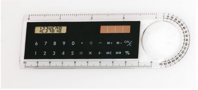 Mensor pravítko s kalkulačkou