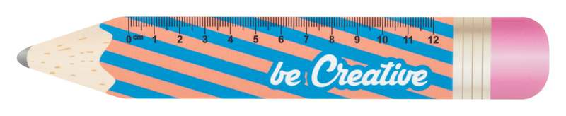 12 cm pravítko ve tvaru tužky Sharpy 12