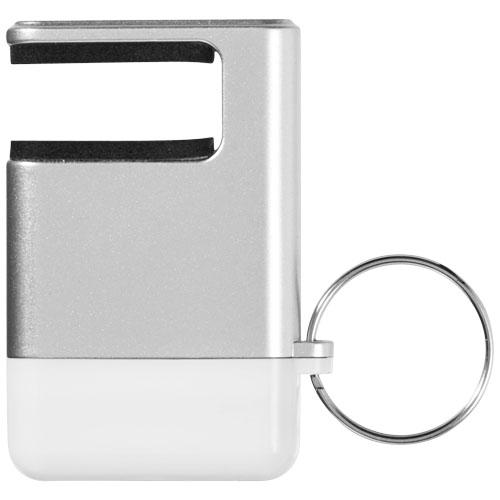 GoGo Mobile bílý držák s čistítkem