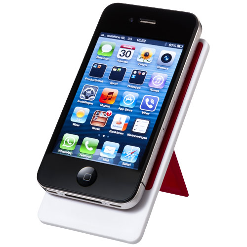 Červený držák mobilu Flip