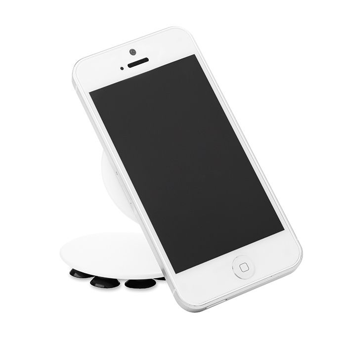 Držák na telefon bílý