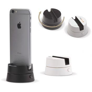 Otočný stojan na telefon na panoramatiské fotky