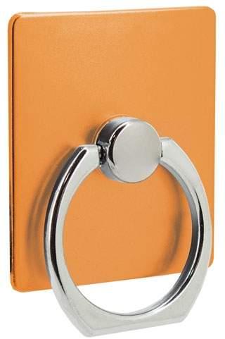 Držák na mobil s kroužkem, oranžová