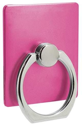 Držák na mobil s kroužkem, růžová
